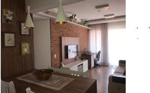 Apartamento Com 2 Dormitórios À Venda, 69 M² Por R$ 415.000,00 - Bosque - Campinas/sp - Ap6880