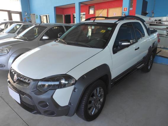 Fiat Strada Adventure 1.8 Cd 2014/2015 Branco