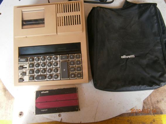 Maquina De Somar, Calculadora Olivet Elétrica 1110 Volts