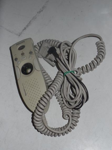 Speechmike Pro Plus Philips Lfh6174/00c - Com Defeito