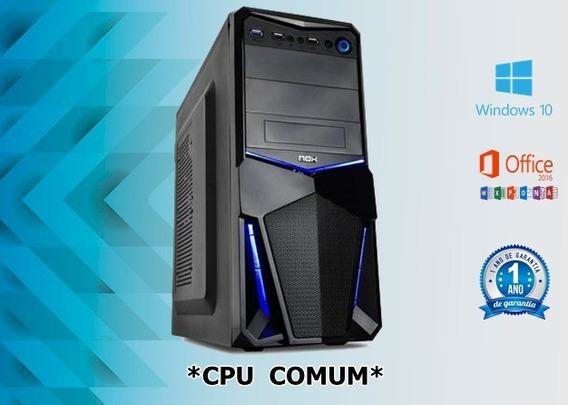 Cpu Core2duo 4gb Ddr3 Hd 160gb Dvd Wifi Nova