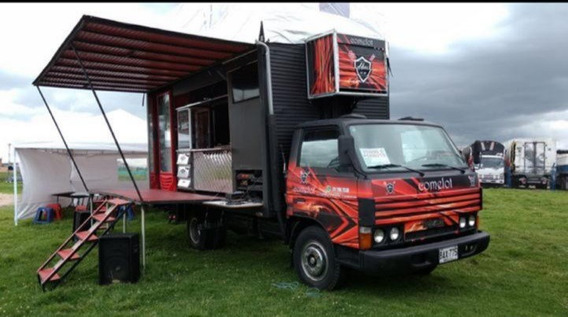 Mazda Turbo Food Truck