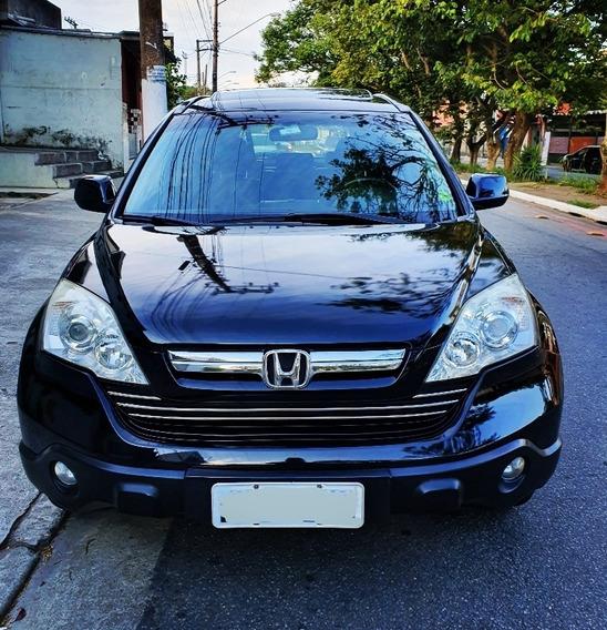 Honda Cr-v 2.0 Exl 4x4 Aut. 5p Teto Solar Top De Linha