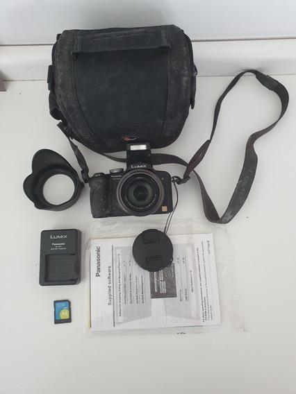 Câmera Semi Profissional Panasonic Lumix