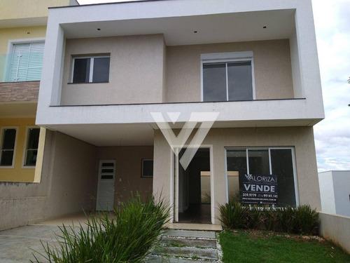 Imagem 1 de 30 de Sobrado Com 3 Dormitórios Suites À Venda, 200 M² Por R$ 595.000 - Condominio Golden Park Residence Ii - Sorocaba/sp - So0600