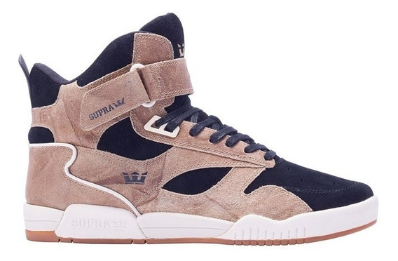 Tenis Supra Bleeker Tan Black Off White 08093-281-m Skate