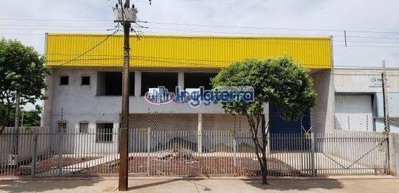 Barracão À Venda, 1200 M² Por R$ 3.500.000,00 - Parque Industrial Kiugo Takata - Londrina/pr - Ba0006