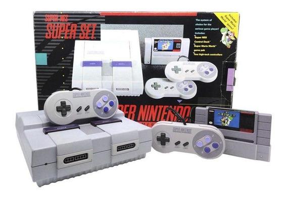 Console Super Nintendo Super Set Nintendo Pronta Entrega
