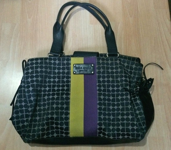 Bella Bolsa Kate Spade Middle Striped Grande 100% Original!!
