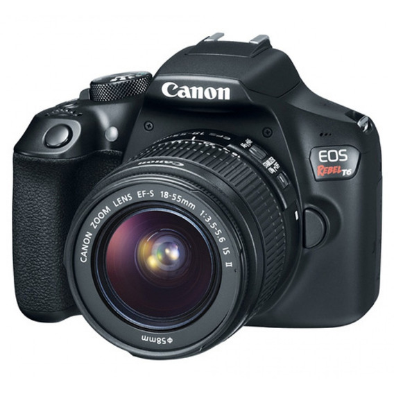 Camera Canon Eos T6 Com Lente 18-55mm