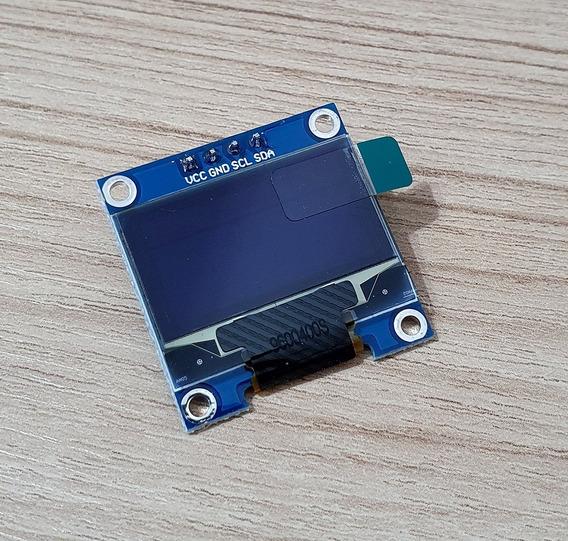 Display Oled 0,96 Polegadas Azul Mmdvm Hotspot Arduino Etc