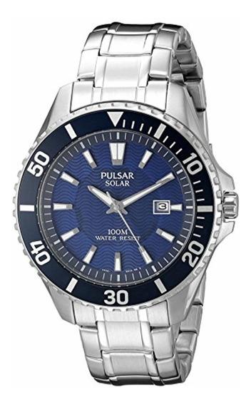 Pulsar Reloj Solar Px3067 De Para Hombre