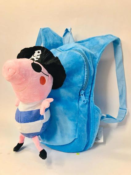 Mochila Peluche George Peppa Pig