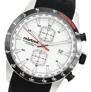 Reloj Hombre Mistral Cod: Chi-2052-1b Taquímetro Sumergible