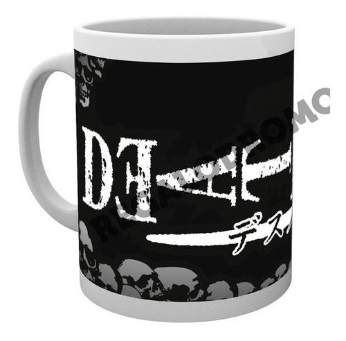 Mug De Death Note, 11 Onzas, Nuevo, Cerámica, M4