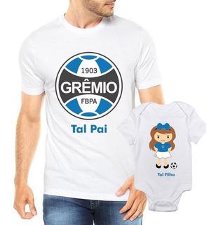 Camiseta Tal Pai Tal Filha Grêmio Futbol Futebol Time