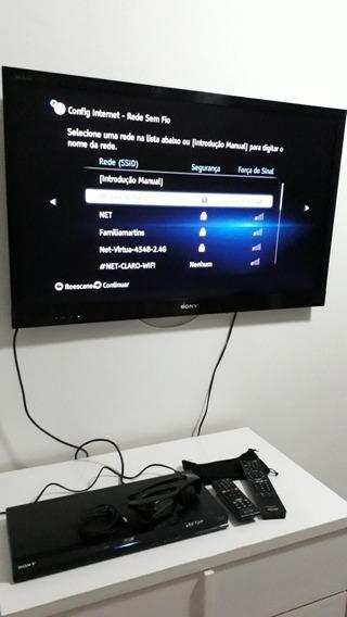 Kit - Tv Sony 3d 40 + B.ray 3d + Óculos 3d + Tv Samsung 40