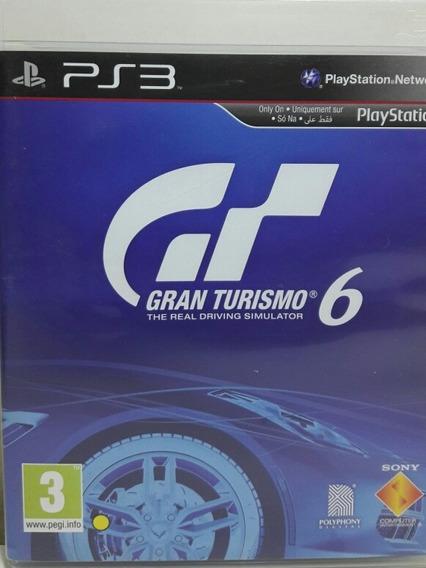 Jogo De Ps3 Gran Turismo 6 Em Mídia Física Standard