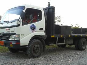 Plaforma (cajo Y Mini Cajon) De Camion Para Hino Dutro 7.5