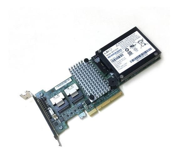 Placa Controladora Lsi Megaraid Sas 9260-8i + Bateria