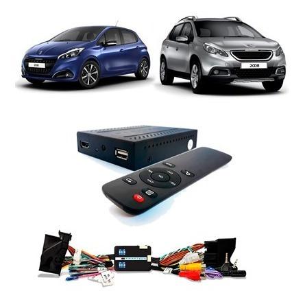 Desbloqueio De Tela + Tv Digital Full Hd Peugeot 208 / 2008