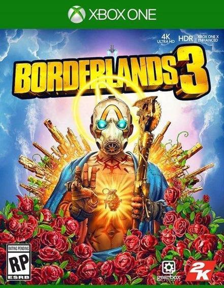 Borderlands 3 Xbox One Mídia Física Novo Original Lacrado