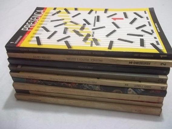 * Revista Presença Politica E Cultura Usp 9 Volumes