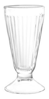 Vaso Malteada Milkshake De Vidrio Cristar 281 Cc X6 Cuotas