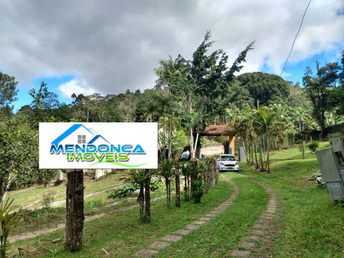 Chácara Com Lago A 500 Metros Do Asfalto - Juquitiba Sp.