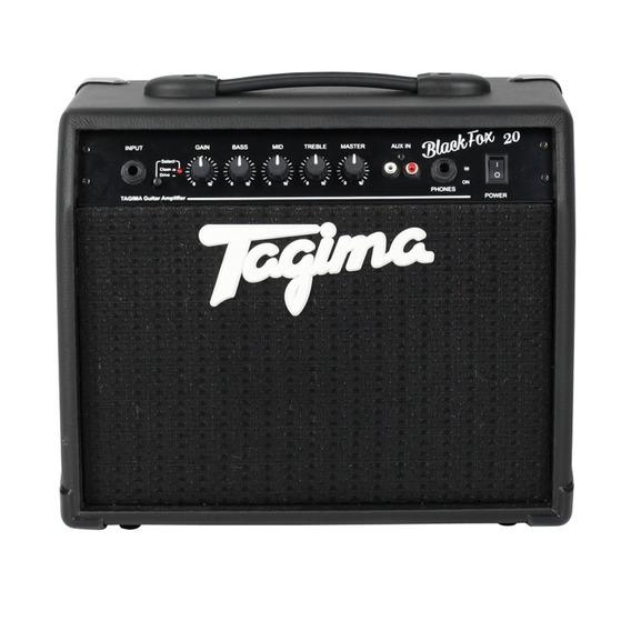 Cubo Amplificador Para Guitarra Tagima Black Fox 20w Rms