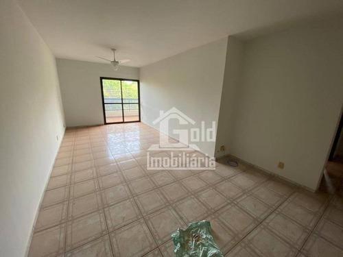 Apartamento Com 3 Dormitórios Para Alugar, 115 M² Por R$ 1.400,00/mês - Jardim Irajá - Ribeirão Preto/sp - Ap3909