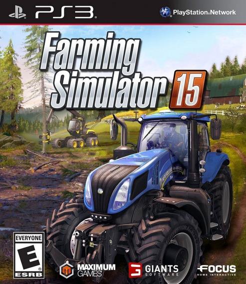 Jogo Farming Simulator 2015 Ps3 Midia Digital Psn Promoção