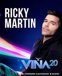 Entradas Festival De Viña Día 23 De Febrero Ricky Martín