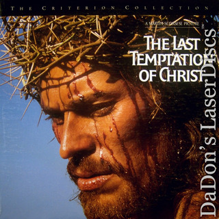 The Last Temptation Of Christ Scorsese Laser Disc Impecable