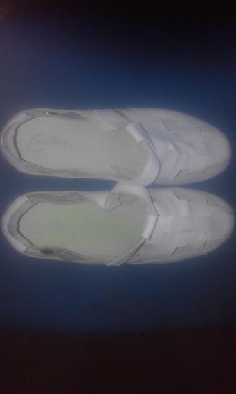 Sandalias Cavatini Mujer Blancas