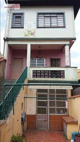Sobrado Com 3 Dormitórios Para Alugar, 250 M² Por R$ 5.000,00/mês - Vila Nova Cachoeirinha - São Paulo/sp - So1020