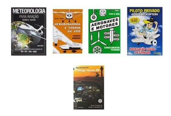 Kit De Livros Piloto Privado Aeroclube De São Paulo (básico)
