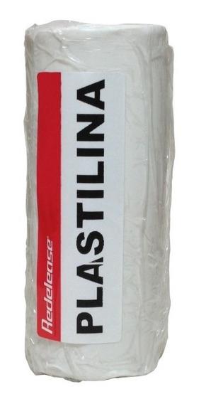 Massa De Modelar Modeling Clay Plastilina Branca Caixa 500 G