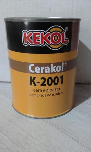 Imagen 1 de 1 de Cera En Pasta Kekol K-2001 X 4 Kgrs