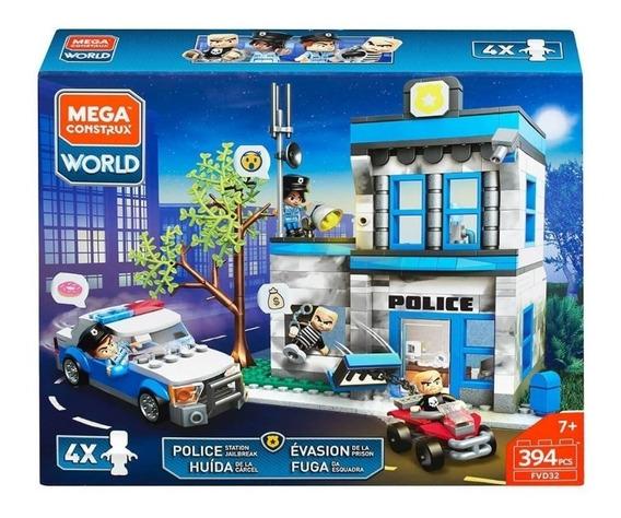 Mega Bloks Contrux Huida De La Carcel 394 Pcs Bloques