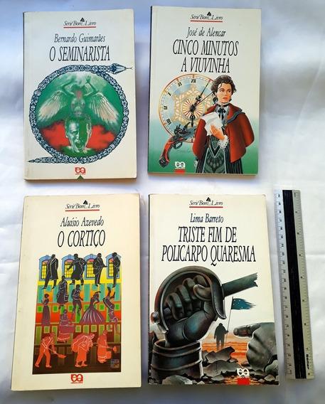 Combo 4 Livros Clássicos Literatura Nacional Alencar Azevedo