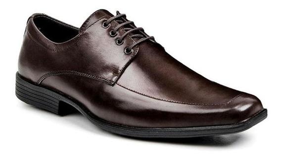 Sapato Social Clássico Masculino Bigioni Em Couro Legítimo