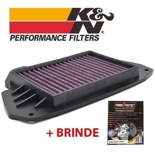 Filtro De Ar Kn = K&n Cb650f Cbr650f + Filtro Magnético