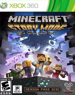 Minecraft: Story Mode Xbox 360 Nuevo Envio Gratis