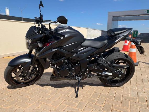 Suzuki Gsx-s750 Preta 2018/2019