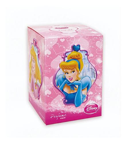 Imagen 1 de 10 de Disney Princess Perfume Infantil X100 Ml 4 Stickets
