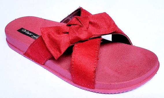 Kit 10 Pares Chinelos Sandálias Rasteira Laço 2 Tiras Atacado Luxo