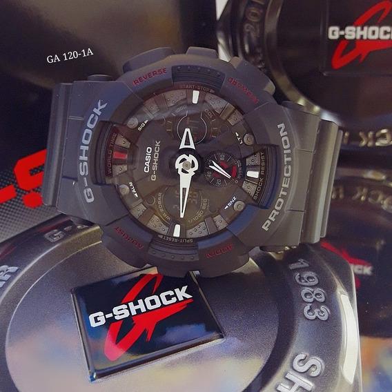 Relógio Masculino Casio G-shock Ga-120-1a