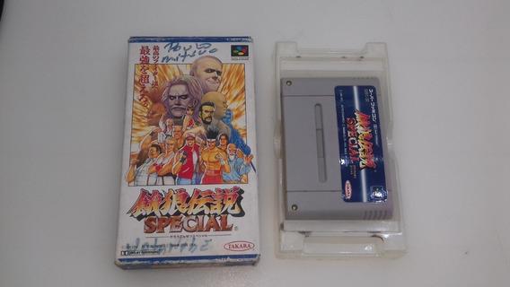 Fatal Fury Spercial Super Famicom Na Caixa