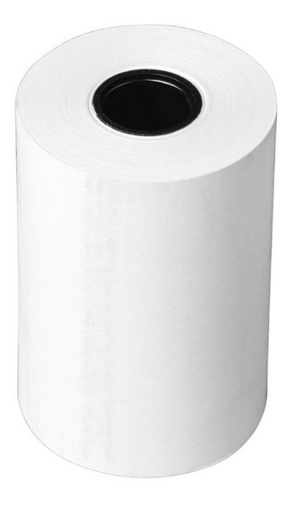 Bobina Branca Térmica 57x30mm Impressora 57mm Pacote 6 Unid.